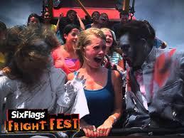Six Flags Fear Fest Fear In Full Force At Fright Fest