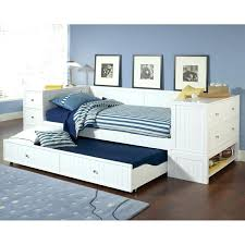 Black Daybed With Trundle Daybeds With Trundle And Storage Drawers Daybed Trundle End