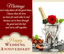 anniversary card for