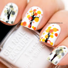 27 nail art designs for autumn easy fall nail art designs ideas