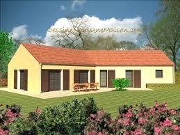 plan de maison en v plain pied 4 chambres plan de maison traditionnelle gratuit plan maison plain pied 3 4
