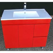 Red Bathroom Cabinets Red Lacquer Bathroom Vanity Modern U2013 Buildmuscle