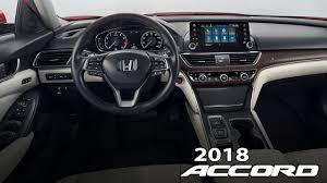 2018 honda accord touring interior and head up display youtube