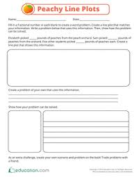 graphing and line plots education com