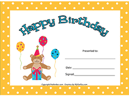 birthday crown certificate chart certificate birthday charts