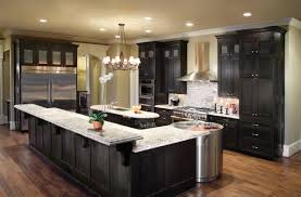 remodeled kitchens with islands kitchen delightful custom black kitchen cabinets maple painted