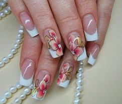 simple but cute looking fake nail designs ideas 2015