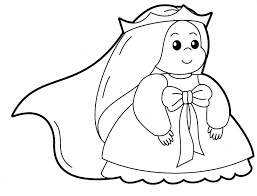 baby coloring pages glum