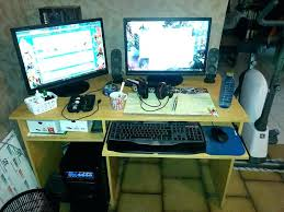 choisir pc de bureau pc de bureau gamer pas cher gaming this built a custom desk and