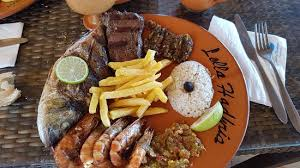 cuisine et delice gambas dorade et thon un délice picture of restaurant lella