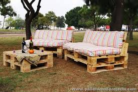 attractive outdoor pallet furniture plans pallet wood projects