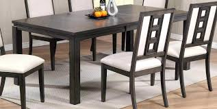 Black White Dining Table Chairs Leather Dining Room Chairs Contemporary Leather Dining Chairs