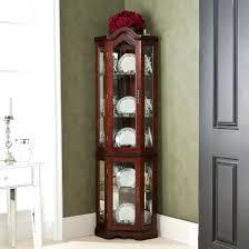 cherry wood corner cabinet interior design lighted cabinet cherry wood cabinet rustic corner
