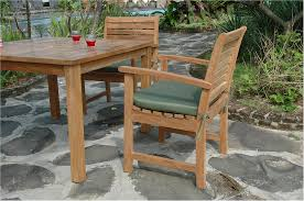 Teak Patio Dining Sets - anderson montage victoria teak patio dining set collection set
