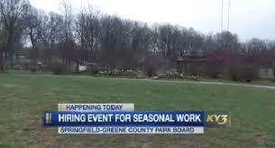 Front Desk Jobs Hiring by Springfield Greene County Park Board Hosts Large Hiring Event Today