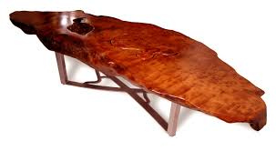Redwood Coffee Table Custom Made Redwood Burl Coffee Table By Dworkin Designs