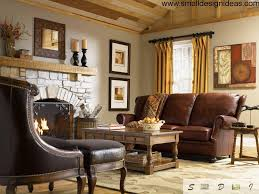 Decorating Ideas For Living Rooms With Brown Leather Furniture English Interior Design Style