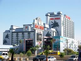 Map Of Las Vegas Hotels On The Strip by Hooters Casino Hotel Wikipedia