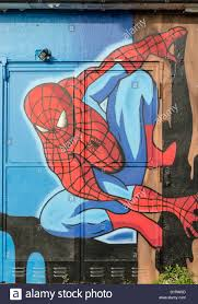 spiderman graffiti mural stock photo royalty free image 52770269 spiderman graffiti mural