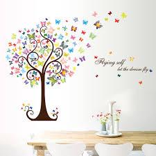 butterfly tree home decor adesivo de parede decals 3d diy