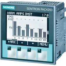 siemens sentron pac4200 multifunctional measuring apparatus