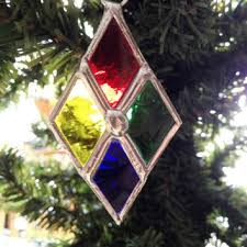 Glass Christmas Ornament Sets - best stained glass christmas ornaments products on wanelo