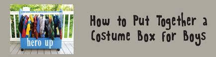 How To Put A Box Together How To Put Together A Costume Box For Boys Rhea Lana U0027s