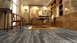 Pre Padded Laminate Flooring Master Design Savannah Gray Random Width Laminate Flooring