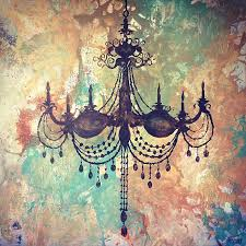 Artsy Chandeliers Chandelier Painting Dwelling Pinterest Chandeliers Shabby