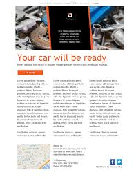 3 free and professional newsletter templates for automotive repair