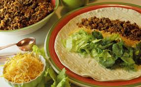 perfectly spiced ground beef tacos