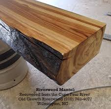 riverwood mantel old growth riverwood wilmington nc for the
