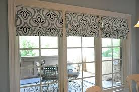ideas for window treatments for sliding glass doors lovable roman shades for french patio doors choosing window