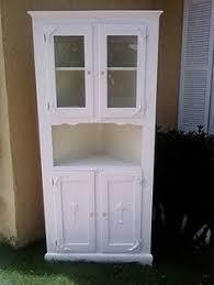 kitchen corner hutch cabinets chalk paint hutches duck egg blue hutch furniture painting ideas