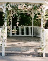 cheap garlands for weddings wedding gazebo with flower garland flower wedding gazebo and
