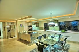 glass dining table awesome modern house in bassonia south africa