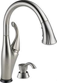 delta touch kitchen faucet delta 980t sssd dst pilar single handle pull touch kitchen