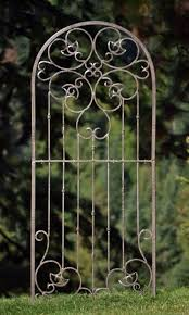 garden trellis metal home outdoor decoration