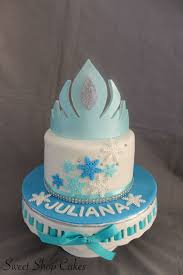 frozen themed birthday cake cakecentral