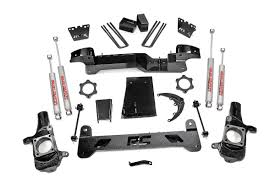 6in suspension lift kit for 01 10 chevy gmc 4wd 2500 3500 hd