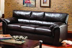 Simmons Leather Sofa Simmons Upholstery 1797 03 London Walnut Bonded Leather Sofa
