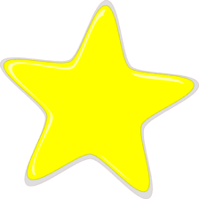 yellow star clipart png clipartxtras
