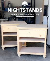 How High Should A Bedside Table Be How To Build Diy Nightstand Bedside Tables