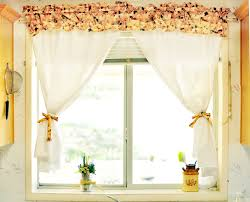 Make Kitchen Curtains by How To Make Simple Kitchen Curtains Diy House Decor How To Make