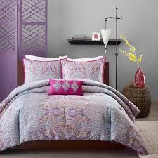 Twin Extra Long Comforter Keisha Grey Comforter Set Twin Twin Xl Paisley