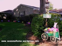 Easter Egg Yard Decorations by The Easter Yard The Seasonal Home