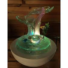 Home Decor Fountain Mini Tabletop Water Fountain Polyresin Frog Fountain 1 Frogs Sets