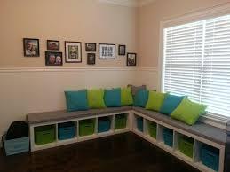 bookcase bench ikea bookshelf turned into bench playroom more tierra este 3759
