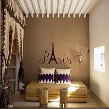 Moroccan Wall Decal by Bedroom Curtain Design And Exposed Beams With Wall Decals Plus