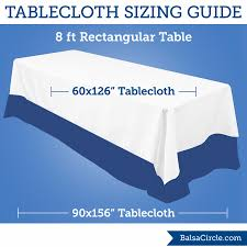8 ft banquet table dimensions what size tablecloth for ft rectangular table within the x